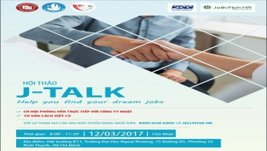 Ngày hội J-Talk - help you find your dream jobs